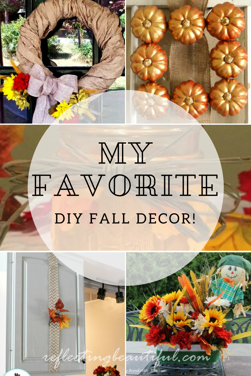 diy home decor for fall 8 of my favorite diy fall decor ideas funtastic friday 141 12088